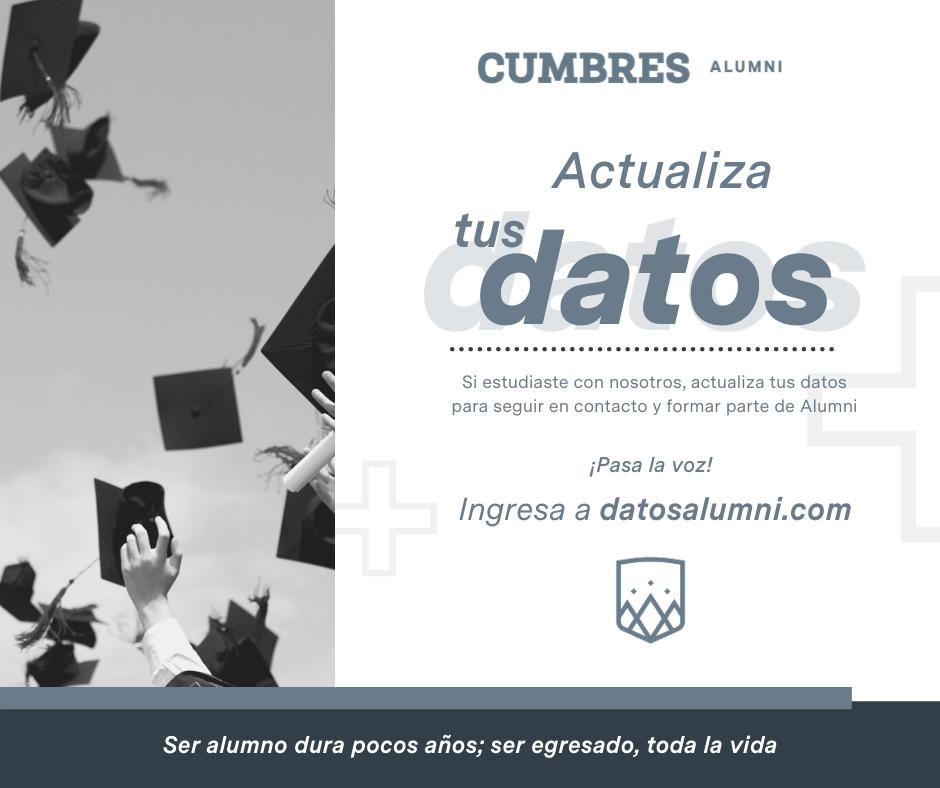 Actualiza Alumni Cumbres